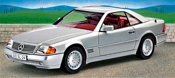 1989 mercedes benz 300 sl24 coupe 1 24 fs for Mercedes benz model codes