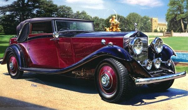 1934 rolls royce phantom ii continental 1 16 fs. Black Bedroom Furniture Sets. Home Design Ideas