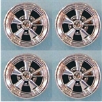 Cragar SS Mags Chrome Plated (Set of 4) (1/25) (fs)