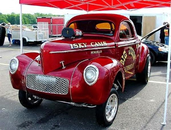 Big John Mazmanian Cuda Willys Austin 1 25 Slixx Decal