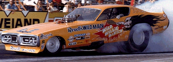 wild willie borsch charger funny car  u0026 fuel altered decals  1  25