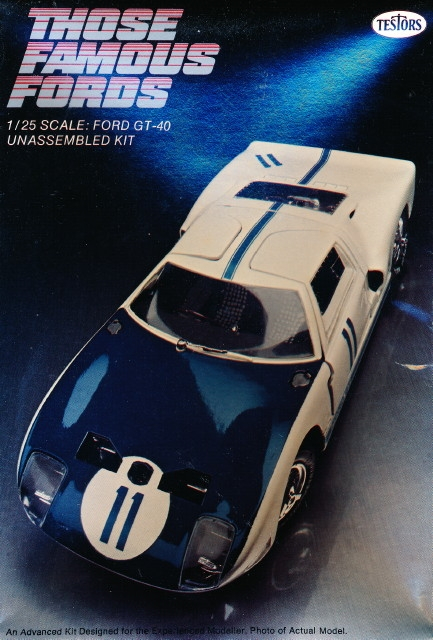 Ford Racing Parts >> Ford GT-40 (IMC Tooling) (1/25) (fs)
