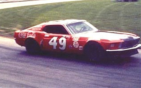 1972 # 49 Bobby Allison/Rollins Ford Mustang
