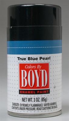 Boyd True Blue Pearl Enamel Spray