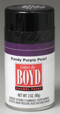 Boyd Kandy Purple Pearl Enamel Spray