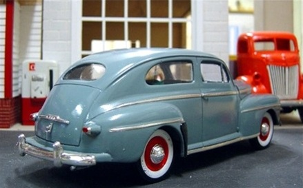 1948 ford 2 door sedan transkit 1 25 for 1948 ford 2 door coupe