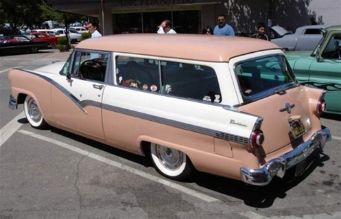 1956 ford 2 door park lane station wagon for 1956 ford wagon 2 door