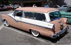 1956 Ford 2 door Park Lane Station Wagon