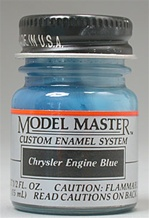 Chrysler Engine Blue Enamel