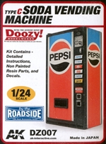 Pepsi Soda Vending Machine (1/24) (fs)