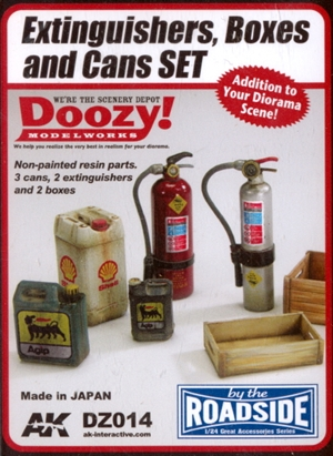 Fire Extinguishers, Boxes and Cans Set (1/24) (fs)