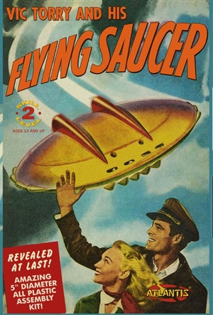 "Vic Torry and his Flying Saucer UFO (5"") (fs)"