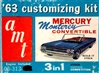 1963 Mercury Monterey Convertible (3 'n 1) Stock, Custom or Competition (1/25)