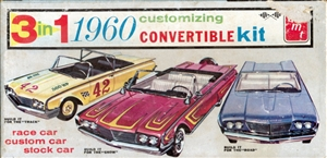 1960 Ford Sunliner Convertible (3 'n 1) Stock, Custom or Race (1/25)