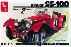 "1930's Jaguar SS-100 (1/32) (fs) <br><span style=""color: rgb(255, 0, 0);"">Just Arrived</span>"