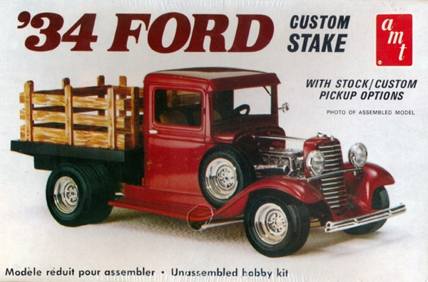 Image result for amt 34 ford stake bed