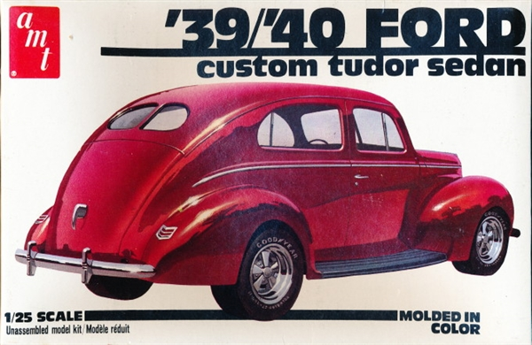 1939 1940 Ford Custom Tudor Sedan 1 25 Fs