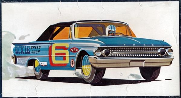 1961 Ford Galaxie Sunliner Convertible 3 N 1 Stock Custom Or