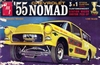 1955 Chevy Nomad Wagon (3 'n 1) Stock, Custom, Drag (1/25)
