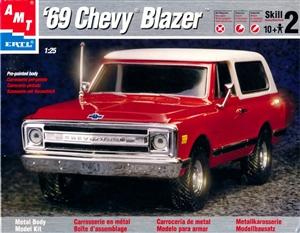 chevy blazer pre painted diecast kit  fs