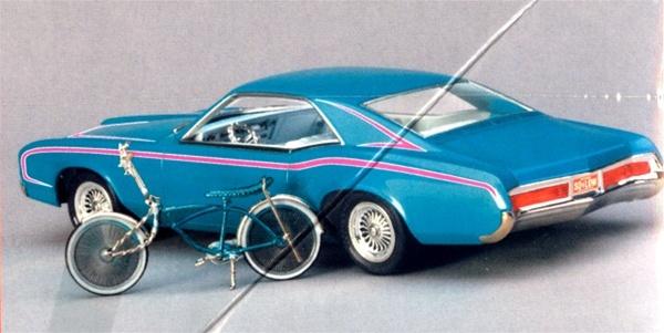 1966 Buick Riviera Custom With Schwinn Spider Bike 1 25 Fs