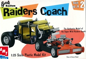 Raiders Coach Stage Coach by George Barris (1/25) (fs)