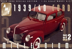 Build A Ford >> 1939 Ford 39/40 Sedan (3 'n 1) (1/25) (fs)