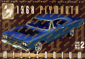 1968 Plymouth Roadrunner (2 'n 1) stock or custom 1/25 (fs)