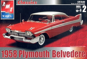 1958 Plymouth Belvedere (1/25) (fs) First Issue