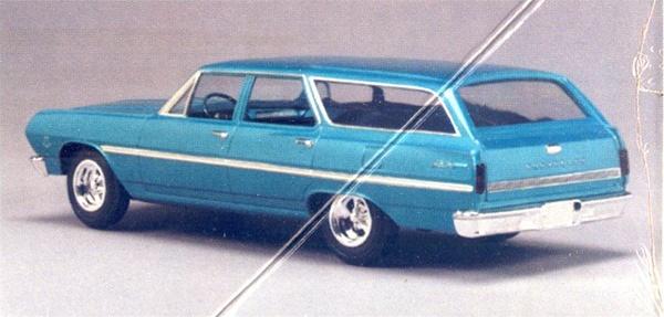 1965 Mustang Station Wagon >> 1965 Chevelle Station Wagon 4 'n 1 Stock, Custom, Drag, Crew Car (1/25) (fs)