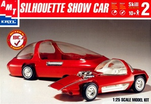 Silhouette Showcar with trailer (1/25) (fs)