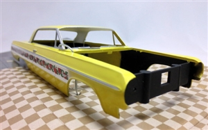 1964 Chevy Impala SS ProShop Pre-Painted Yellow (1/25) (fs)