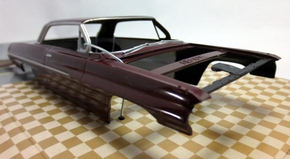 1962 Pontiac Catalina ProShop Pre-Painted Maroon (1/25) (fs)