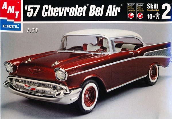 1//25 1957 Chevy Bel Air