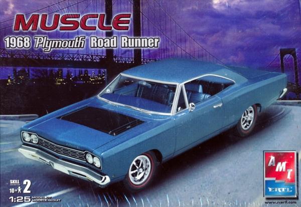 1968 Plymouth Roadrunner (2 'n 1) stock or custom 1/25 (fs)