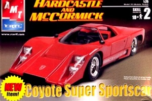 "Coyote Super Sportscar ""Hardcastle and McCormick"" (1/25) (fs)"