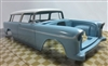 1955 Chevrolet Nomad ProShop Pre-Painted Baby Blue (1/25) (fs)