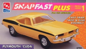1974 Plymouth Barracuda Snap Kit (1/25) (fs)