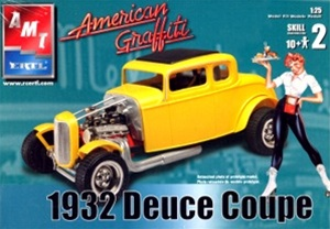1932 Ford Deuce Coupe 'American Graffiti'  (1/25) (fs)