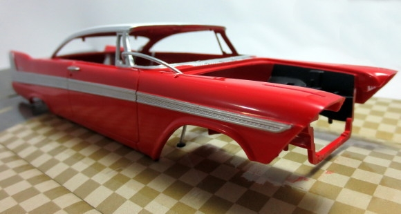 1958 Plymouth Belvedere Proshop Pre Painted Red 1 25 Fs