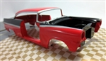 1956 Ford Victoria ProShop Pre-Painted Red & Black (1/25) (fs)