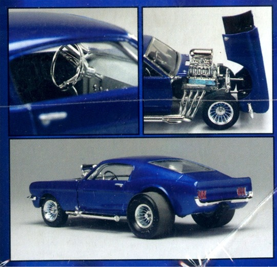 1966 ford mustang 2   2 flip nose gasser from vintage mpc tooling  1  25   fs