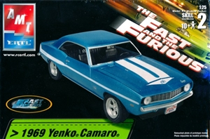 1969 Yenko Camaro 'The Fast and the Furious' (1/25) (fs)