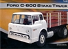 Ford C-600 Tilt Cab Stakebed Truck (1/25) (fs)