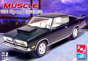 1969 Plymouth Barracuda (2 'n 1) (1/25) (fs)