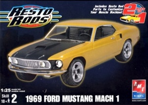 1969 Ford Mustang Mach I  (2 'n 1) (1/25) (fs)