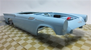1957 Ford Thunderbird ProShop Pre-Painted Light Blue (1/25) (fs)