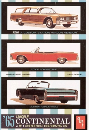 1965 Lincoln Continental Convertible ( 3 'n 1) (1/25) (fs)