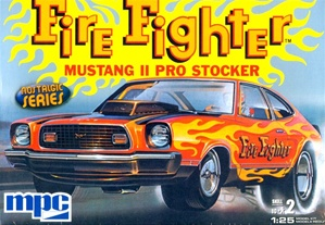 1974-1976 Ford Mustang II Pro Stock 'Firefighter' (1/25) (fs)