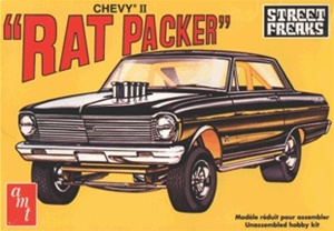 1963 Altered Wheelbase Chevy II Rat Packer Dragster 1/25 (fs)